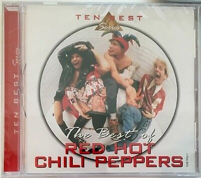 Red Hot Chili Peppers - The Best Of Red Hot Chili Peppers [CD New] (Red Hot Chili Peppers Best Of Cd)