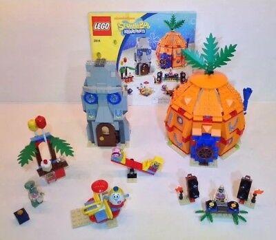 LEGO Spongebob Squarepants 3818 Bikini Bottom Undersea Party Complete No Box