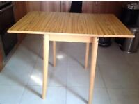 Retro (drop leaf) extendable small kitchen table