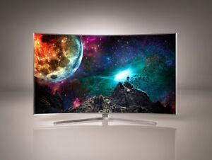 "Samsung 65"" 4K UHD HDR LED Curved Tizen Smart TV (UN65MU7600)"