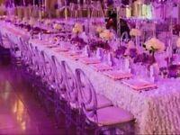 Chiavari chair from £2 Chiavari Chair Clear Banquet Phoenix Resin chair hire, wedding chairs