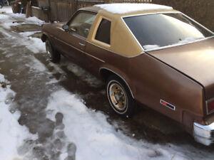 Wanted: 1975-79 Chev nova parts car