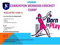 Edmonton Women's Cricket registeration