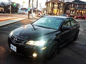 2006 Mazda 6 *** low kilometres + winter tires/rims. Peterborough Peterborough Area image 1