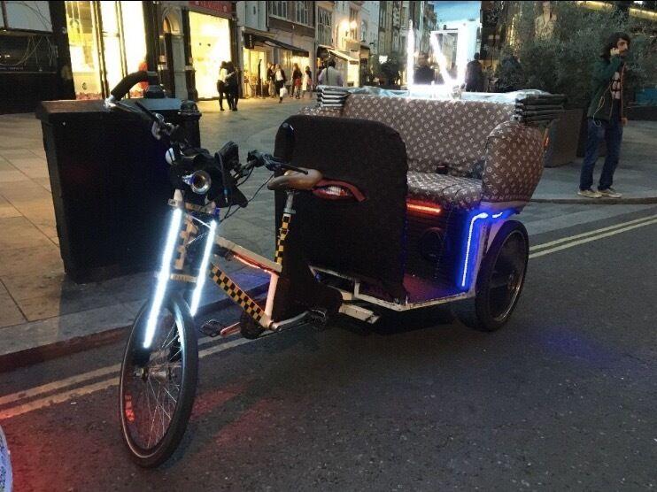 Pedicab Rickshaw For Sale