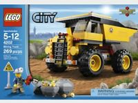 RETIRED LEGO CITY, 4 COMPLETE SETS
