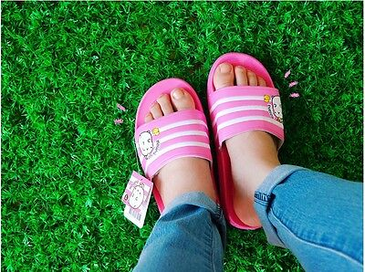 Molang Women Slippers Shoes Cool Summer Sandal Beach Slippers 250mm - Pink
