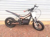 Oset 12.5 electric trials bike for sale. The best learning bike on the market.