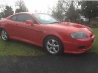 2005 HYUNDAI COUPE 1.6 FACELIFT MODEL ONLY 80,000 MILES FULL LEATHER ALLOY WHEELS!