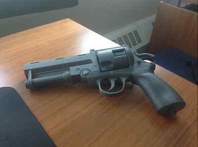 3D printed HellBoy The Good Samaritan Pistol Replica Prop Model DIY Kit