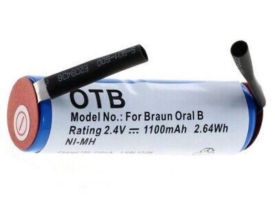Akku für Zahnbürste Braun 4717 Ersatzakku / Braun Oral B Sonic Complete ()