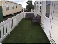 Caravan with Balcony to Rent on 5* Sand Le Mere Holiday Village! 3 Bed (Sleeps 6)