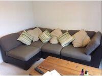 Interchangeable corner sofa