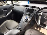 PCO car rent - Toyota Prius uber ready with leather interior