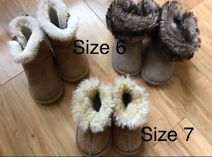 Toddler Girls Size 6 & 7 Boots