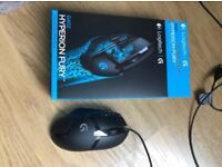 Logitech G402 Hyperion Fury Ultra-Fast FPS black Gaming Mouse for PC/ Mac