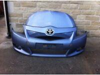 Genuine Toyota Corolla Verso Front Bumper & Bonnet 2009-2010-2011-2012