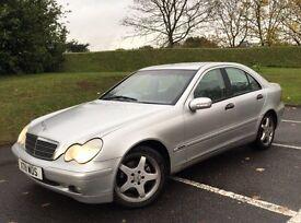 Mercedes benz c200 kompressor auto 2001