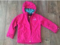 Surfanic Girls Ski Jacket Size 5-6Years 116cm