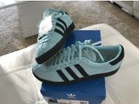 Adidas aqua blue topanga retro , dead stock