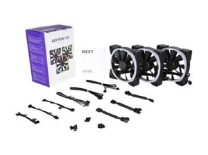 NZXT hue RGB fans and controller plus 3 extra RGB fans