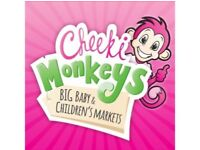 Cheeki Monkeys pre loved baby & childrens market
