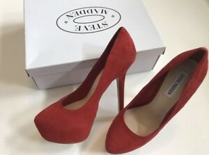 BRAND NEW with Box! Steve Madden Babylonn Suede Heels
