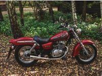 2001 Suzuki marauder 125