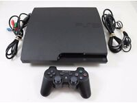 PlayStation 3 with 8 games everything working in perfect conditions
