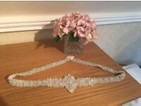 NEW Beaded bridal belt - Paid £400