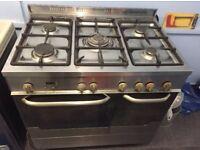 New world NW90GDO Aluminium Range Cooker