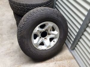 Toyota Landcruiser GXL wheels COOPER DISCOVERY Wellington Point Redland Area Preview