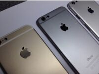 iPHONE 6 16GB, WITH SHOP RECEIPT & WARRANTY, GOOD CONDITION, ALL COLOURS