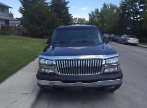 Chevrolet Avalanche fully loaded