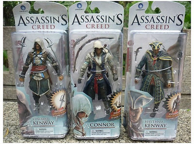 Assassins Creed Connor (Assassin's Creed Edward Connor Hunter Haytham 3D Action Figures Statue Model)