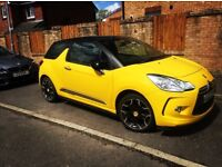 CITREON DS3 YELLOW LOW MILEAGE QUICK SALE