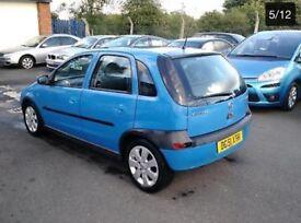 Vauxhall/Opel Corsa 1.2i 16v 2002 SXi