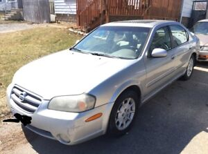 2003 Nissan Maxima As Is $1200
