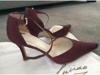 Satin bridesmaid shoes