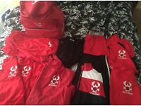 Harriers Academy Kit - sell seperately or £20 the lot