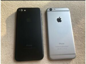 iPhone 6 and 7