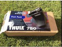 Thule roof bars rack 750 foot pack and bars