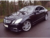 2010 MERCEDES E350 CDI AMG SPORT COUPE V6 DIESEL