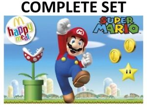 Mcdonalds 2018  Super Mario -  Complete Set - READY TO SHIP