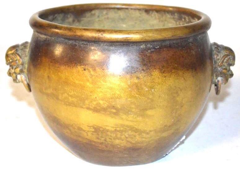 Fine Antique Chinese Bronze Censer, 19th C.