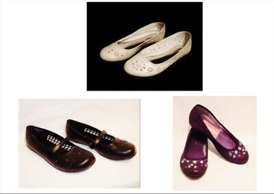 Sz 5, 3, 2 Expressions Tween Girls Dress Shoes Flats Ballet Mary Janes NEW