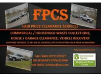 FPCS (RUBBLE, GARDEN WASTE, WOOD, GENERAL WASTE, SCRAP METAL, HOUSE CLEARANCE AND MORE)