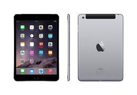 iPad mini 3 16gb wifi and cellular