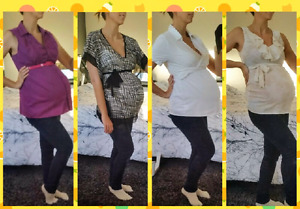 Maternity Officewear/ Blouses (size Small)