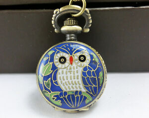owl-blue-steampunk-pocket-locket-watch-necklace